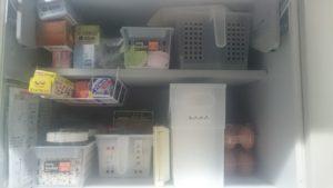 キッチン左上戸棚after