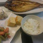 焼き魚+4種のおかず盛り合わせ