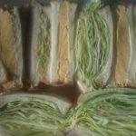 3種のサンドイッチ