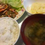 焼き肉+マッシュポテト