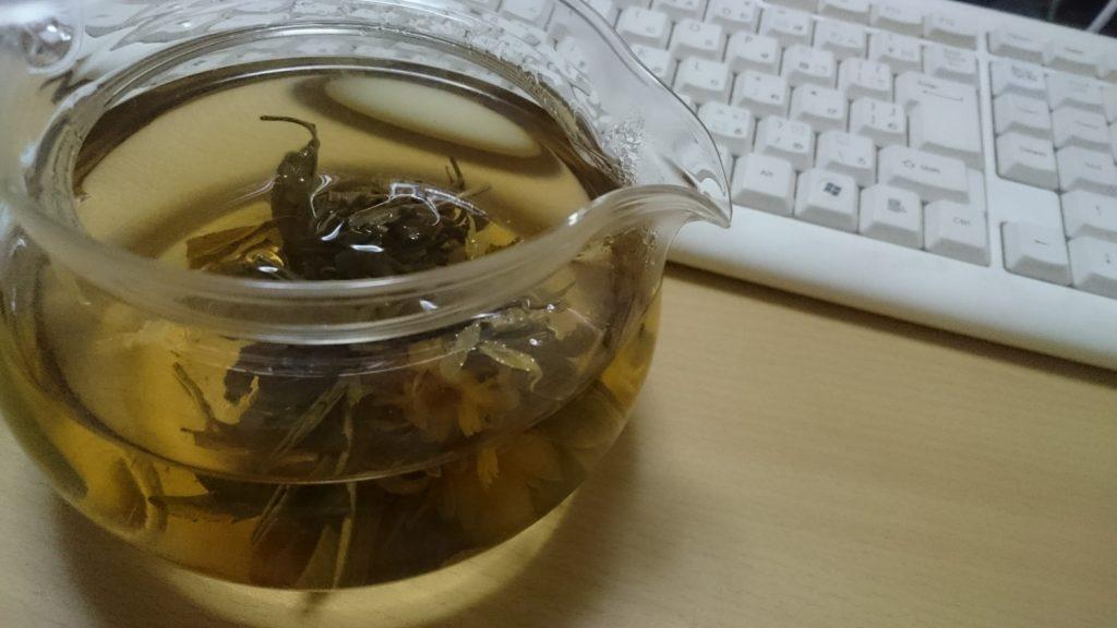 花咲く工芸茶