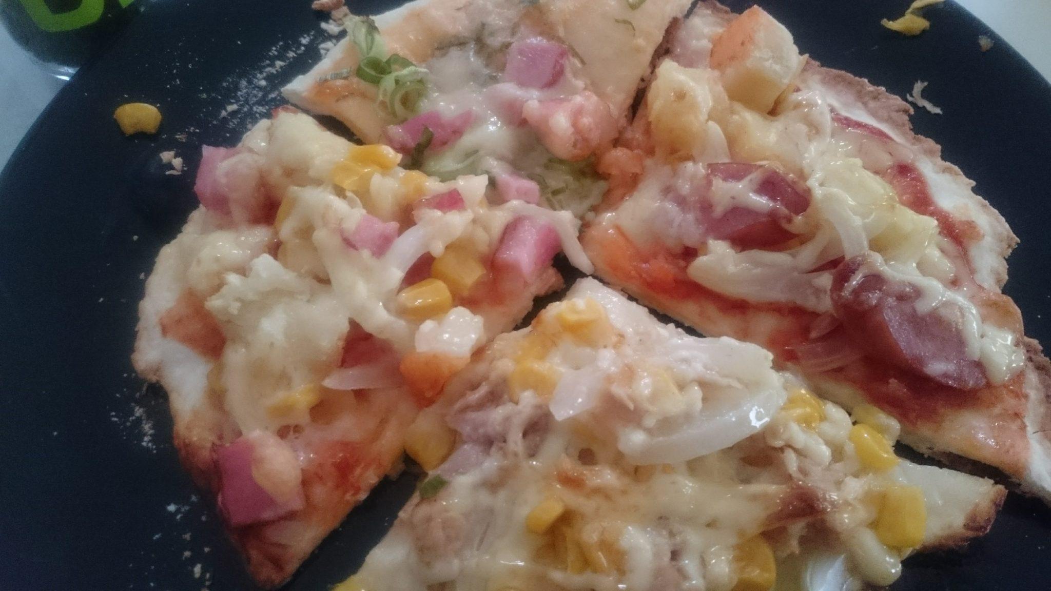 4種のピザ
