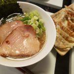 のどぐろラーメン&しじみラーメン+肉餃子&野菜餃子