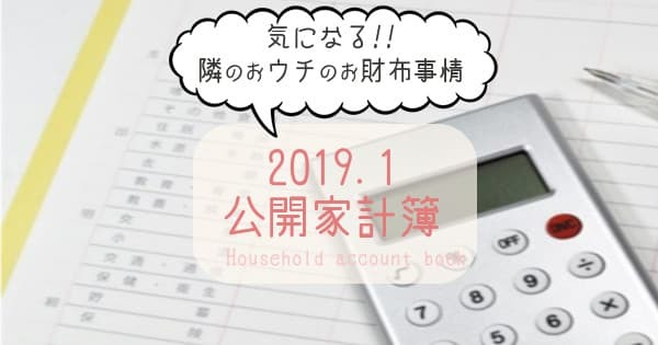 Household account book-201901