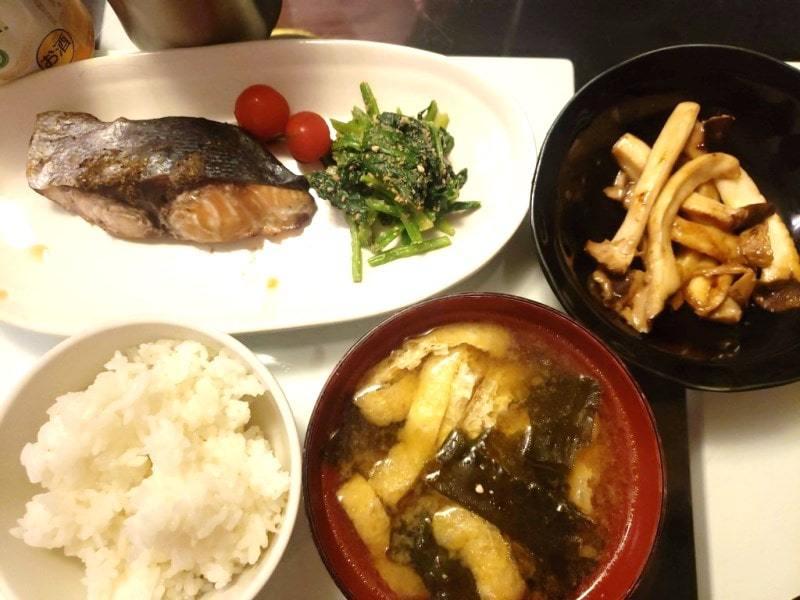 【4人分786円/25分】ブリの山椒焼き+エリンギのオイスターソース炒め