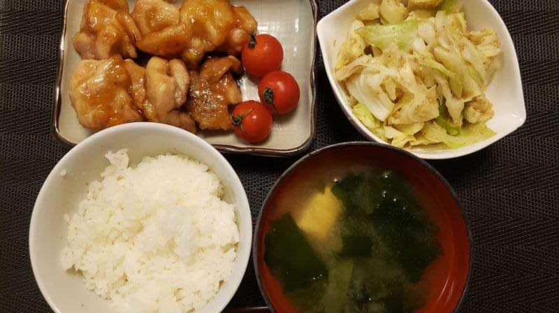 【4人分768円/20分】鶏の照り焼きと副菜の献立レシピ