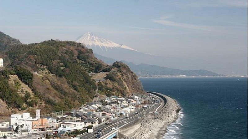 駿河健康ランドから望む富士山