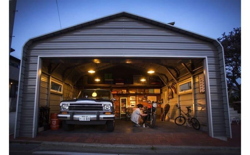車のタイヤを劣化から守る車庫