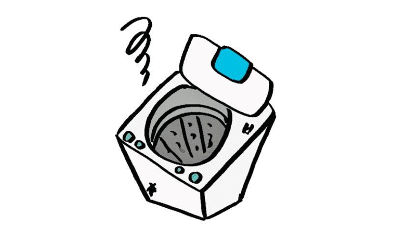 洗濯機の寿命は6~10年